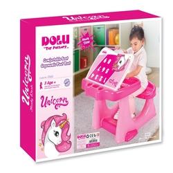 Dolu Oyuncak Fabrikasi - Dolu Unicorn Ders Çalısma Masası Aktivite Masası