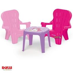 Dolu Oyuncak Fabrikasi - Dolu Unicorn Masa ve 2'li Sandalye Seti 24+ Ay