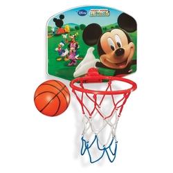 Dede Toys - Duvara Ve Kapıya Asılabilen Oyuncak Basket Potası Mickey Mause Küçük Boy