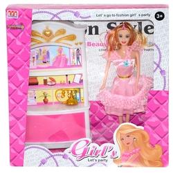 Efe Toys - Efe Oyuncak Gardroplu Oyuncak Manken Bebek Aksesuarlı
