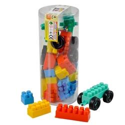 Efe Toys - Efe Toys Eğitici Bloklar 34 Parça Pvc Silindir Kutu