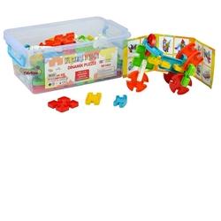 Efe Toys - Efe Toys Eğitici Dinamik Puzzle 120 Parça Plastik Kutuda