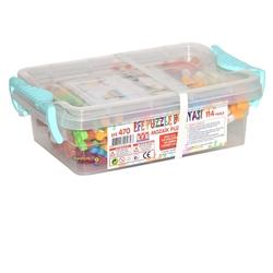 Efe Toys - Efe Toys Eğitici Mozaik Puzzle Küçük Boy 114 Parça Plastik Kutuda