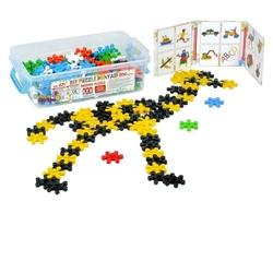 Efe Toys - Efe Toys Eğitici Mozaik Puzzle Orta Boy 200 Parça Plastik Kutuda