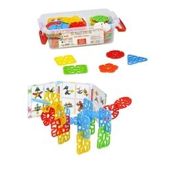 Efe Toys - Efe Toys Eğitici Mühürlü Puzzle Küçük Boy 380 Gr Plastik Kutuda