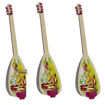Efe Toys Türkçe Müzikli Oyuncak Halk Sazı