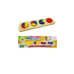 Woodoy-Karsan Ahşap - Eğitici Ahşap Oyuncaklar Bütünleme Oyunu