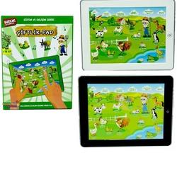 Birlik Oyuncak - Eğitici Oyuncak Tablet Çiftlik Pad Okul Öncesi