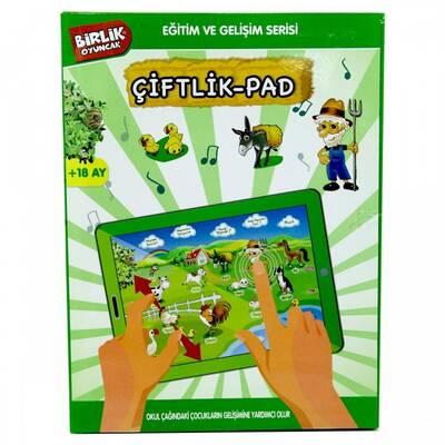 Eğitici Oyuncak Tablet Çiftlik Pad Okul Öncesi