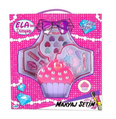 Ela'nın Dünyası Cupcake Makyaj Seti
