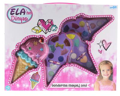Ela'nın Dünyası Dondurma Makyaj Seti