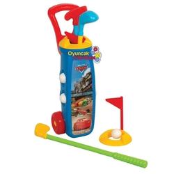 Dede Toys - Erkek Çocuk Oyuncak Golf Oyun Seti Cars Lisanslı