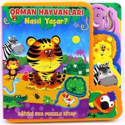 MEGA - Eva Puzzle Kitap-Orman Hayvanları Nasıl Yaşar