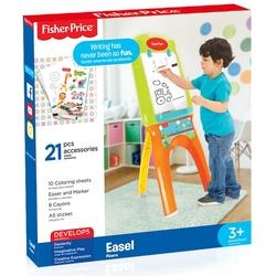 Dolu Oyuncak Fabrikasi - Fisher-Price Ayaklı Yazı Tahtası Aksesuarlı