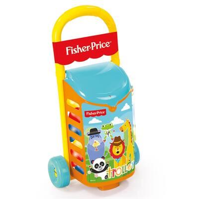 Fisher-Price Çek-Çek Oyuncak Pazar Arabası Ve 25 Adet Oyun Topu Hediyeli