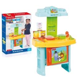 Dolu Oyuncak Fabrikasi - Fisher Price Şefin Oyuncak Mutfak Seti Aksesuarlı