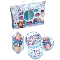 Dede toys - Frozen Çantalı Boncuklu Takı Tasarım Seti