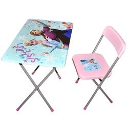 Furkan Toys - Frozen Çocuk Çalışma Masa Sandalye Seti