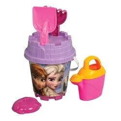 Dede toys - Frozen Yuvarlak Aksesuarlı Kale Kova Set