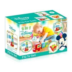 Furkan Toys - Furkan Oyuncak Disney Baby 3'lü Tır Seti