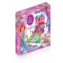 Furkan Toys - Furkan Oyuncak Winx Aksesuarlı Rüya Evi 40 Parça