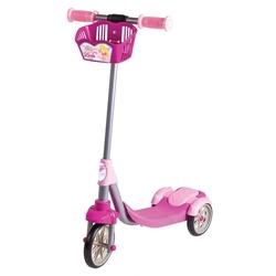 Furkan Toys - Furkan Toys Linda 3 Tekerlekli Frenli Scooter Sepetli