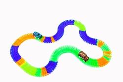 Gepettoys Magic Tracks Yarışçı Araba Işıklı 168 Parça - Thumbnail