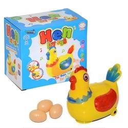 Can Oyuncak - Gezen Yumurtlayan Oyuncak Tavuk Sesli Işıklı