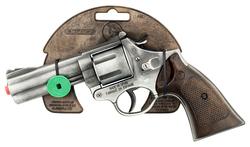 GONHER - Gonher Revolver 12'li Uzun Namnulu Gri Metal Polis Koleksiyon Tabancası