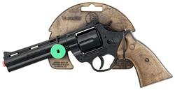 GONHER - Gonher Revolver 12'li Uzun Namnulu Siyah Metal Polis Koleksiyon Tabancası