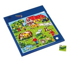 Güçlü Toys - Güçlü Eğitici Resimli Puzzle Çiftlik 37 Parça