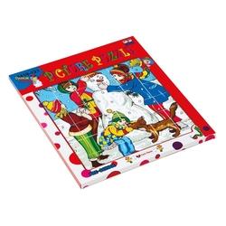 Güçlü Toys - Güçlü Eğitici Resimli Puzzle Kardan Adam 37 Parça