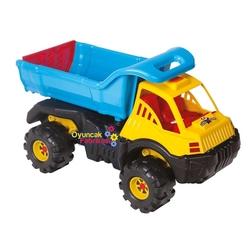 Güçlü Toys - Güçlü Oyuncak Büyük Kocaman Plastik Kamyon Ultra Hafriyat 87 Cm