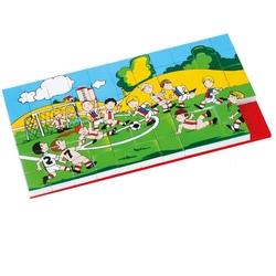 Güçlü Toys - Güçlü Toys Plastik Eğitici Puzzle Futbol Maçı 67 Parça