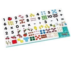 Güçlü Toys - Güçlü Toys Plastik Eğitici Puzzle Rakamlar 67 Parça