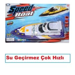 Can-em Oyuncak - GuGu Suda Giden Oyuncak Yat Tekne Süper Hızlı Seri Su Geçirmez