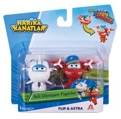 HARİKA KANATLAR - Harika Kanatlar 2'li Mini Figür Flip Astra