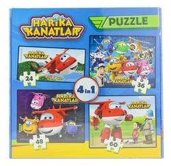 HARİKA KANATLAR - Harika Kanatlar 4 Lü Kutu Puzzle