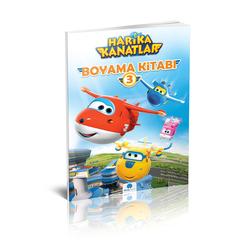 HARİKA KANATLAR - Harika Kanatlar Boyama Kitabı-3