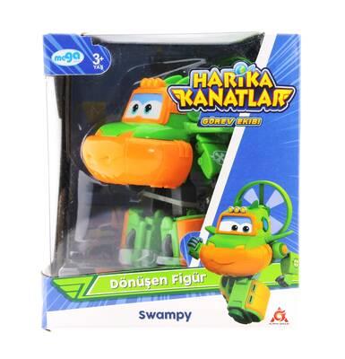 Harika Kanatlar Dönüşen Figür Swampy