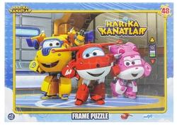 HARİKA KANATLAR - Harika Kanatlar Frame Puzzle Donnie-Jet-Dizzy