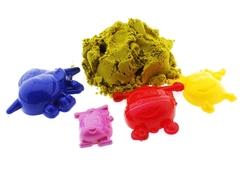 Harika Kanatlar Kovada Oyun Kumu Seti Sarı - Thumbnail
