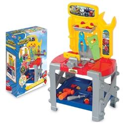 Dede toys - Harika Kanatlar Oyuncak Büyük Tezgahlı Tamir Seti 33 Parça