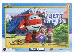 HARİKA KANATLAR - Harika Kanatlar Puzzle Jet Nepal'de