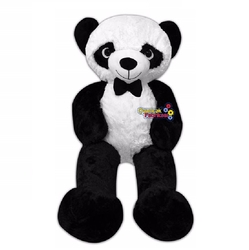 Hawking - Hawking Papyonlu Büyük Boy Peluş Panda 150 Cm