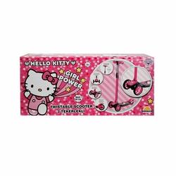 Hello Kitty 3 Tekerlekli Twistable Scooter Miajima - Thumbnail