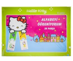 MEGA - Hello Kitty 58 Parça Yapboz Alfabeyi Öğreniyorum