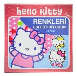 MEGA - Hello Kitty Renkleri Eşleştiriyorum 20 Parça HK40629
