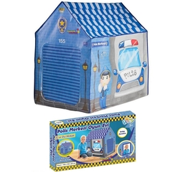 Furkan Toys - Homy Polis Merkezi Oyun Çadırı Oyun Evi
