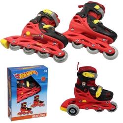 Hot Wheels - Hot Wheels Ayarlanabilir Çocuk Pateni 30 -33 Alıştırma Tekerli